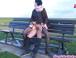 Older GERMAN HOUSEWIFE FUCKET OUTDOOR FROM YOUNG BOY